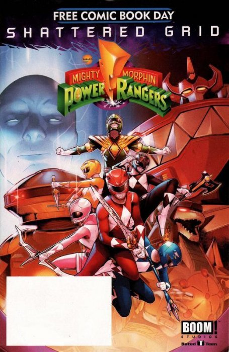 FCBD2018 - Mighty Morphin Power Rangers