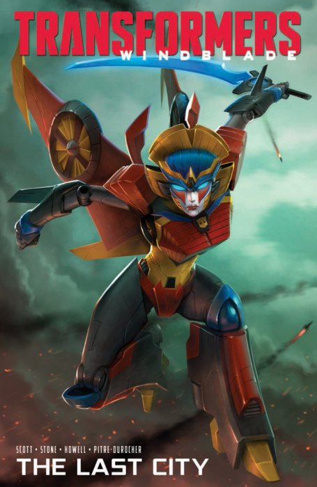 The Transformers - Windblade - The Last City #1 - TPB