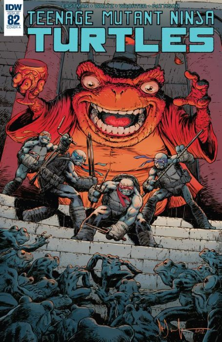 Teenage Mutant Ninja Turtles #82