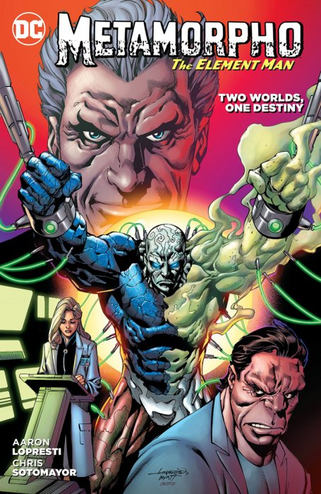 Metamorpho - Two Worlds, One Destiny #1 - TPB