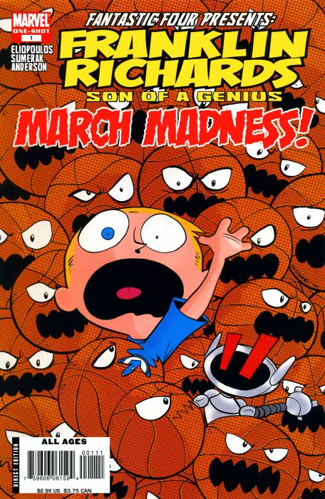 Franklin Richards - March Madness