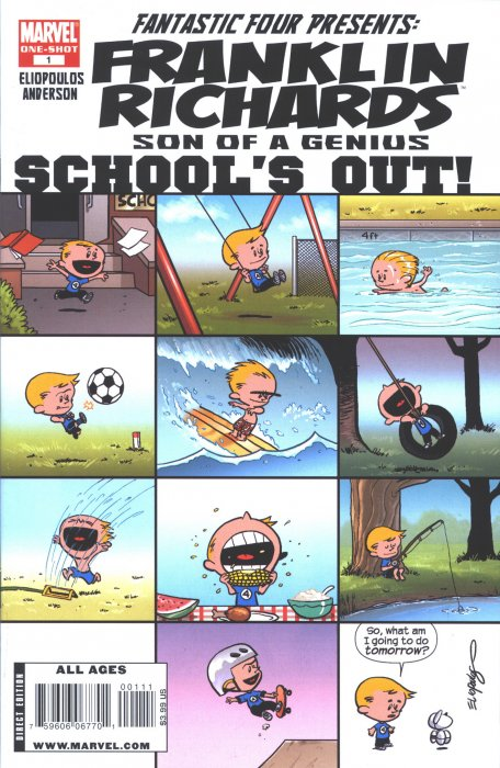 Franklin Richards - Schools Out