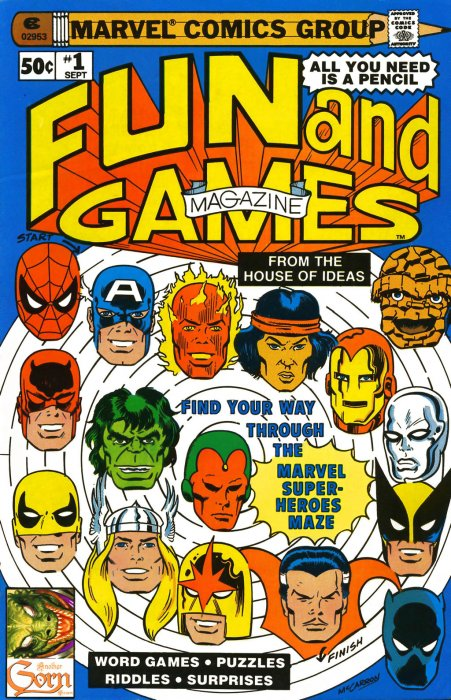Fun and Games Magazine #1-13 Complete