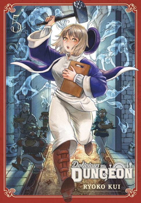 Delicious in Dungeon Vol.5
