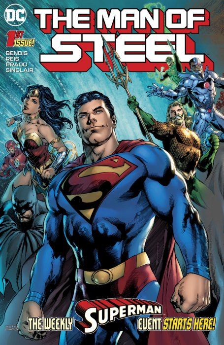 The Man Of Steel #1