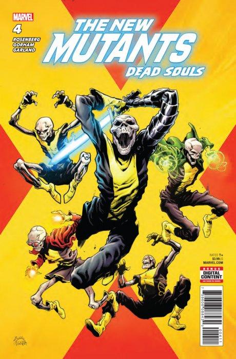 New Mutants - Dead Souls #4