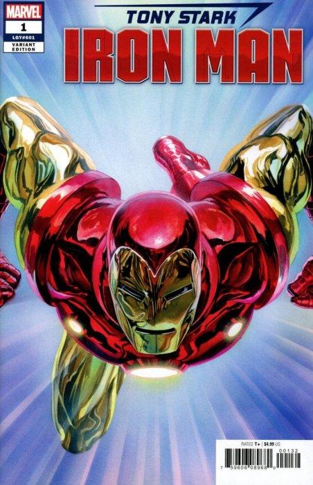 Tony Stark - Iron Man #1
