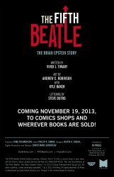The Fifth Beatle limited edition preview