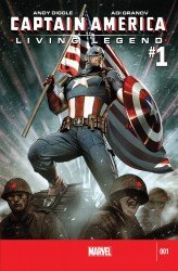 Captain America - Living Legend #01