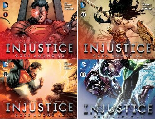 Injustice - Gods Among Us (1-36 series)