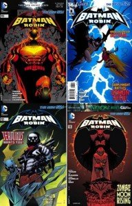Batman and Robin collection (0-23.4 series)