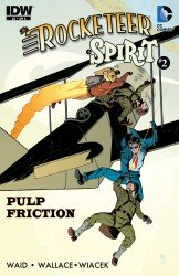 The Rocketeer - The Spirit - Pulp Friction! #2