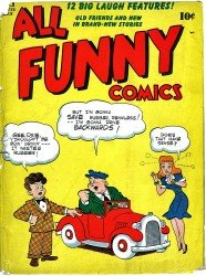 All Funny Comics (1-23 series) complete