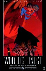 Batman and Superman - World's Finest (1-10 series) Complete