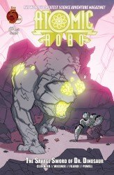 Atomic Robo and the Savage Sword of Dr. Dinosaur #03
