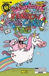 Itty Bitty Bunnies in Rainbow Pixie Candy Land #02