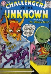 Challengers of the Unknown (Volume 1) 1-87 series