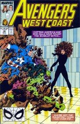 Avengers West Coast #48-102 + Annuals Complete