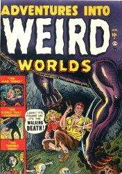 Adventures Into Weird Worlds #01-30 (missing #18 and #23 issues)