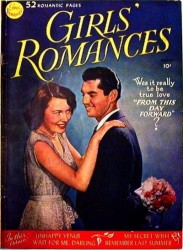 Girls' Romances 1-160 series (127 issues)