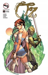 Grimm Fairy Tales Presents Oz #05