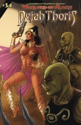 Warlord Of Mars Dejah Thoris #34