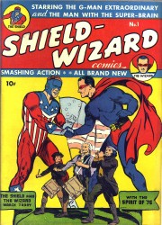 Shield - Wizard (1-13 series) Complete