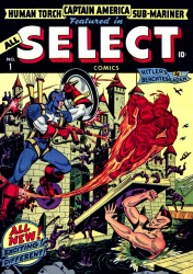 All-Select Comics #01-11 Complete