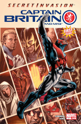 Captain Britain and MI13 #01-15 Complete