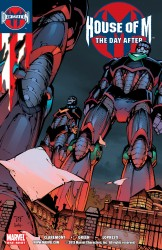 Decimation - House Of M - The Day After