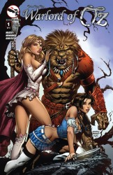 Grimm Fairy Tales Presents Warlord Of OZ #01