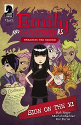 Emily and the Strangers #4 – Breaking the Record #1