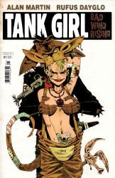 Tank Girl  - Bad Wind Rising (1-4 series) Complete