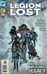 Legion Lost (Volume 1) 1-12 series