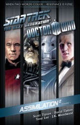 Download Star Trek The Next Generation Doctor Who Assimilation Vol.1