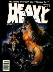 Heavy Metal Vol.17 #1-6 + Specials Complete