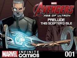 Avengers - Age of Ultron Prelude - This Sceptre'd Isle Infinite Comic #01