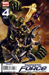 Fantastic Force (Volume 2) 1-4 series