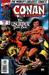 Conan the Barbarian - The Usurper #01-03 Complete
