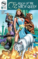 Grimm Fairy Tales Presents Oz Reign Of The Witch Queen #01