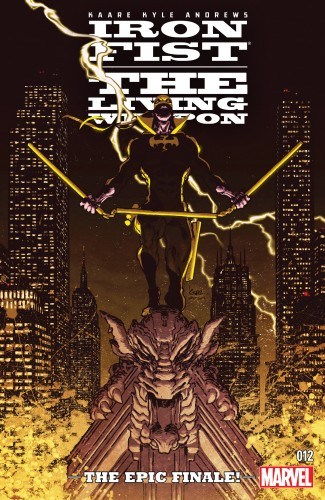 Iron Fist - The Living Weapon #12