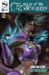 Grimm Fairy Tales Presents Oz Reign Of The Witch Queen #03