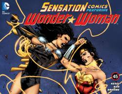 Sensation Comics Featuring Wonder Woman #45