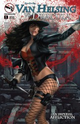 Grimm Fairy Tales Presents Van Helsing Vs Dracula #1
