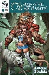 Grimm Fairy Tales Presents Oz Reign Of The Witch Queen #04
