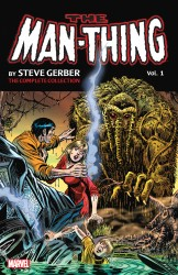 Man-Thing by Steve Gerber - The Complete Collection Vol.1
