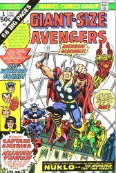 Giant-Size Avengers #1-5 Complete