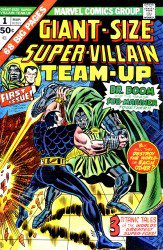 Giant-Size Super-Villain  Team-Up #1-2 Complete