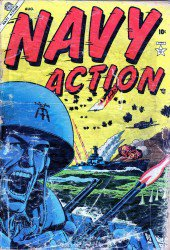 Navy Action  #1-15 Complete