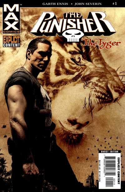 The Punisher The Tyger #1